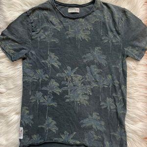 ZARA BOYS Palm Tree Print Short-Sleeve Tee